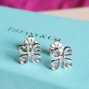 Tiffany & Co. Paloma Picasso Loving Heart Earrings